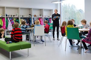 Финландия училище