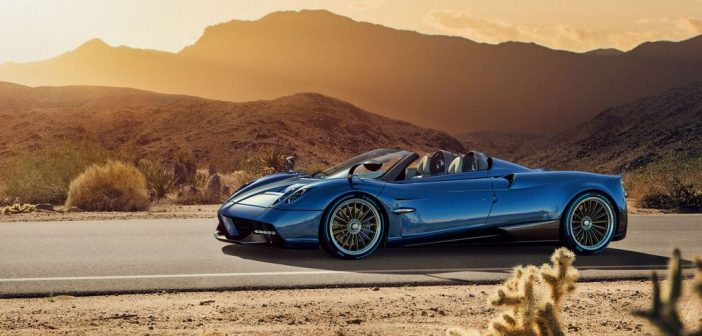 Pagani показа уникално красивата и невероятно бързата Huayra Roadster