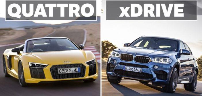 BMW xDrive срещу Audi Quattro: Коя система е по-добра? (ВИДЕО)